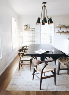 cool 88 Modern Minimalist Dining Room Design with Wooden Chairs You Will Love