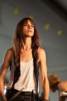 Charlotte Gainsbourg at Coachella 2010