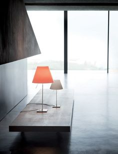 Costanzina tafellamp zwart | Luceplan