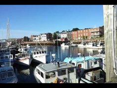 Eastport, Maine - The Breakwater Pier