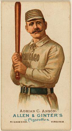 Cap Anson card, 1887