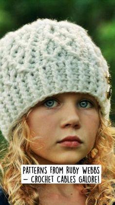 Crochet Cable, Love Crochet, Knit Crochet, Crochet Hats, Baby Sense, Great Hobbies, Crochet Projects, Crochet Ideas, Crochet Handbags