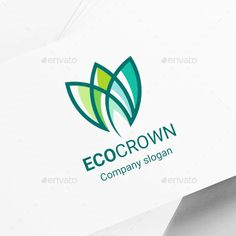 Crown Logo Graphics, Designs & Templates from GraphicRiver (Page Crown Logo, Eco Green, Coreldraw, Graphic, Flower Crown, Illustration, Place Card Holders, Templates, Logos