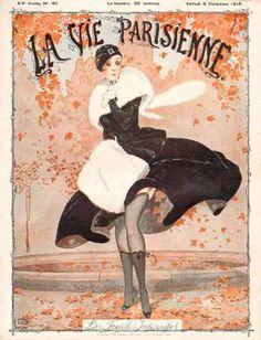 Georges Léonnec (1881 – 1940). La Vie Parisienne, 6 Novembre 1915. [Pinned 20-i-2015]