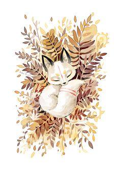 Slumber Art Print- Freeminds