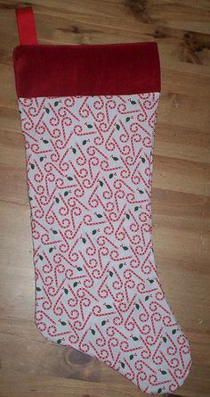 simple tutorial Christmas Stocking