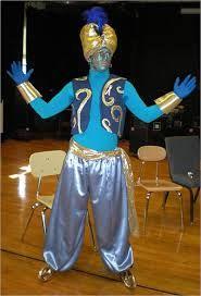 aladdin genie costume - Google Search & Aladdin Genie Costume DIY...large pants pegged at bottom blue ...