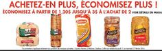 Coupons et Circulaires: B2G3$ sur le pain D'Italiano, Country Harvest, Gad...