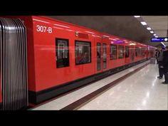 Helsingin uusi M300-metro(307)/Helsinki's new M300 metro(307), Full HD - YouTube