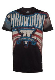 Camiseta Throwdow Stann Patriot Preta – Throwdown - http   batecabeca.com. 6e7583f7520