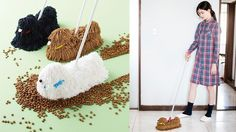 Mop that looks like a mop dog will clean your floors won't roll over http://ift.tt/1puVTxg  Dogs that looks like mops have finally received their house cleaning counterpart.  If you have to mop the floor wouldnt you rather your mop look like an adorable long-haired dog instead of a boring blob of yarn-like string?  Japanese store Felissimo is making that cleaning dream a reality with their adorable mop dog mops modeled after the Komondor dog breed.  SEE ALSO: Life-sized dogs made out of…