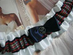 Tartan Garter by bridesstudio on Etsy, $25.00