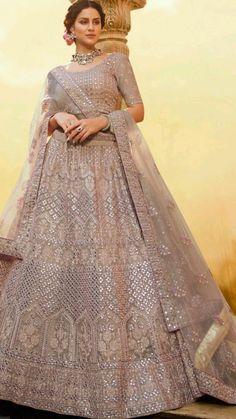 Indian Bridal Outfits, Pakistani Bridal Dresses, Indian Fashion Dresses, Indian Designer Outfits, Party Wear Lehenga, Bridal Lehenga Choli, Indian Lehenga, Wedding Lehenga Designs, Bridal Lehenga Collection