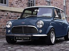 David Brown Automotive Remastered the Classic Mini