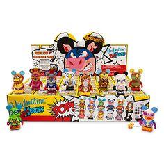 Vinylmation - Zooper Heroes Series Tray   Vinyl Figures   Disney Store   $238.80