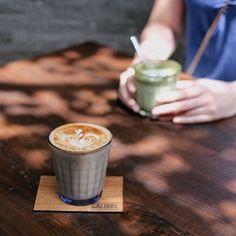 coffee, friends, sunshine