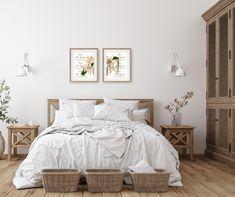 Set of 2 Prints Floral Wall Art, Botanical Print Set, Country French Ephemera Wall Art Prints #FloralWallArt #FrenchEphemera #MinimalistWallArt #FrenchProvincial #BotanicalPrintsSet #BotanicalWallArt #BathroomWallDecor #HousewarmingGift #OfficeDecor #SetOf2Prints