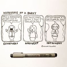 I Doodle Introvert Comics To Express How I Feel   Bored Panda