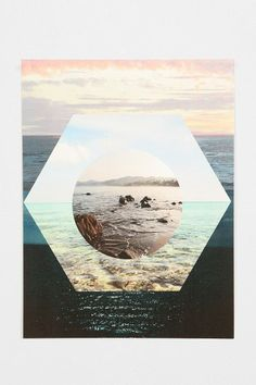 Beach Collage Poster #urbanoutfitters