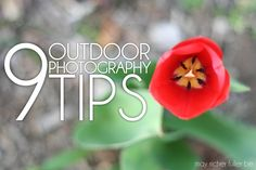 May Richer Fuller Be: 9 Outdoor Photography Tips