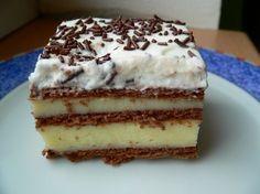 Zákusek z Kalamaki Home Bakery, Easy No Bake Desserts, Vanilla Cake, Tiramisu, Food And Drink, Yummy Food, Treats, Baking, Sweet
