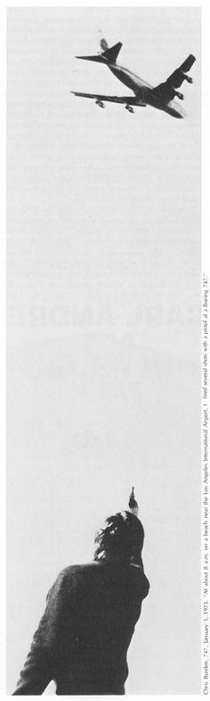 CHRIS BURDEN by Robert Horvitz (Artforum, May 1976)