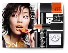"""Blow The Whistle!"" by joicecl ❤ liked on Polyvore featuring beauty, NARS Cosmetics and orangecrush"