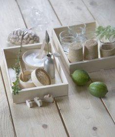 cagettes en bois par les petites emplettes