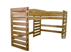 L Shaped loft bed...perfect!