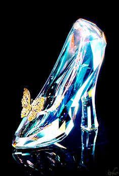 gifs disney cinderella kp Disneyedit cinderellaedit kpfilm Cinderella 2015 i love that the glass slippers have a magical butterfly touch to it it's very dainty