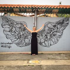 Kelsey Montague art - Costa Rica Wings