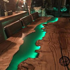 Resin Table Top/ Step by step/Dual Heat action/ DIY/begginers and advanced… Epoxy Resin Table Top/ Step by step/Dual Heat action/ DIY/begginers and advanced.Epoxy Resin Table Top/ Step by step/Dual Heat action/ DIY/begginers and advanced. Diy Resin Table, Epoxy Wood Table, Diy Table, Wood Tables, Epoxy Table Top, Diy Resin Furniture, Epoxy Resin Wood, Green Furniture, Rustic Table