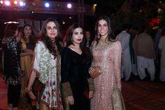 Aamna, Maheen and Shehrbano Taseer
