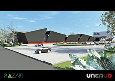 Estudo Preliminar - Shopping- Brasil - SP - Une Arquitetura Urbanismo Design Arq. João Henrique Ferreira Arq. Cesar Sallum #arquitetura