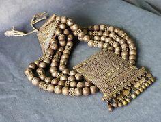 Antique Jewelry Yemenite Necklace Silver filigree Yemen Brides' Islamic Jewelry Bead and Filigree work Silver Necklaces, Silver Jewelry, Jewelry Necklaces, Jewellery, Antique Jewelry, Beaded Jewelry, Wedding Ornament, Silver Filigree, Brides