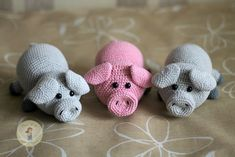 VK is the largest European social network with more than 100 million active users. Crochet Pig, Giraffe Crochet, Crochet Rabbit, Easy Crochet, Crochet Toys, Free Crochet, Basic Crochet Stitches, Crochet Basics, Amigurumi Doll Pattern