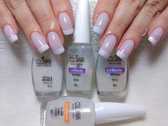 Ideas For French Manicure Square Gel Manicure Designs, Manicure Colors, Pink Manicure, Purple Nails, Green Nails, Nail Colors, Nail Designs, Sparkle French Manicure, Fall Manicure
