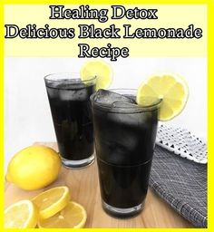 Healing Detox Delicious Black Lemonade Recipe Homesteading - The Homestead Survival .Com
