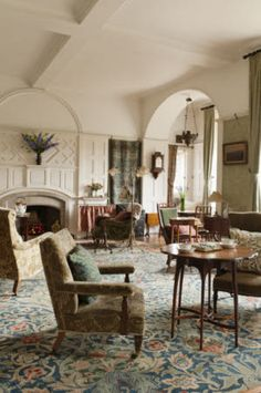The Drawing room @ Standen, Philip Webb, Architect