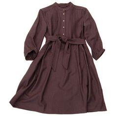 Bird :: clothing :: dresses :: soft flannel henley dress