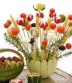 Bouquet of Veggies