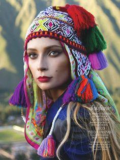 Vogue Mexico - photoshoot in Cuzco, Peru