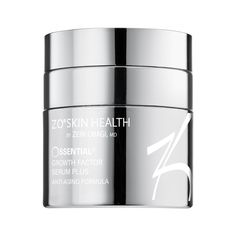 ZO Skin Health Ossential Growth Factor Serum Plus evens out your skin tone and softens fine lines.