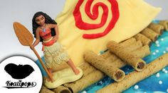 Moana Birthday Cake | Disney Princess | DIY & How To