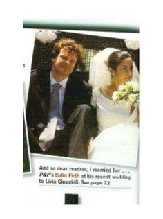 Photo of People magazine July 1997 for fans of Colin Firth.