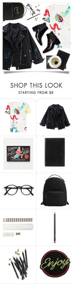 """Do I have paint on my face?"" by brynhawbaker ❤ liked on Polyvore featuring Marc Jacobs, Rifle Paper Co, Christian Louboutin, MANGO, Kate Spade, MAC Cosmetics and Bobbi Brown Cosmetics"