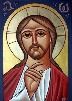 Jesus Christ, COPTIC ICON