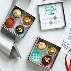 Food Gifts for Christmas: Pound Cake Truffles Sampler