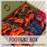 Care Package: Football Theme  // Love From Home
