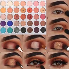 The question how to apply eyeshadow has very many answers. Yet, we managed to do our best and gather all the perfect ways of eyeshadow application in one place and we are more than willing to share our knowledge with you! Use it to your advantage, make sure your eyes always look gorgeous! #makeup #makeuplover #makeupjunkie #eyeshadow #howtoapplyeyeshadows #eyeshadows #eyemakeup